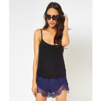 MINK PINK Chiffon Back Cami Black $39.00 http://shopmarkethq.com/collections/brands-minkpink?looks=true