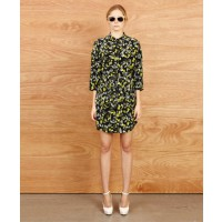 Karen Walker Placket Service Dress with Tie $530.00 http://www.karenwalker.com/Placket-Service-Dress-W-Tie-P1845.aspx