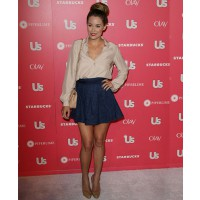 Lauren Conrad wows in a cute navy skirt WENN.com http://www.posh24.com/photo/1376426/lauren_conrad_navy_blue_skirt