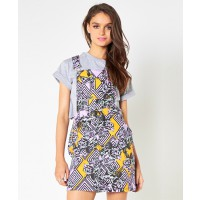 Mink Pink Climbing Rose Dingaree Dress $74 http://shopmarkethq.com/products/climbing-rose-dungeree-dress
