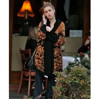 Whitney port cozies up in a geometric print cardigan http://www.posh24.com/photo/814775/whitney_port_geometric_print_c credit: WENN.com
