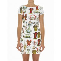 Ryder Crustacean Fitted Dress $189.00 http://ryderlabel.com/collections/all/products/crustacean-fitted-dress