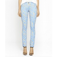 C&M by Camilla and Marc Garage Jean $229.00 http://www.camillaandmarc.com/garage-jean-blue-tiger-print.html