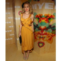 Georgia May Jagger looks cute in mustard on the Myer red carpet http://www.fabsugar.com.au/Olivia-Palermo-Georgia-May-Jagger-Eva-Mendes-Celebrity-Fashion-FabSugar-Australia-11825377?image_nid=11828925 credit: Getty