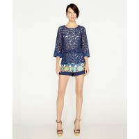Collette by Collette Dinnigan St. Barts 3/4 sleeve lace top with silk cuff $228.51 http://shop.collettedinnigan.com.au/st-barts-3-4-sleeve-lace-top-with-silk-cuff/