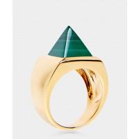 Eddie Borgo gemstone pyramid ring $240 http://www.greenwithenvy.com.au/product_details.php?id=819992#