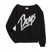 Zoe Karssen Boys loose fit sweater in black source: zoekarssenshop.com credit: Zoe Karssen http://www.zoekarssenshop.com/sweaters/boys-3398.html#page=page-1