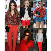 Celebrities in red Source: fab sugar credit: Getty/Wire Image http://www.fabsugar.com/Celebrities-Red-August-2011-18673973