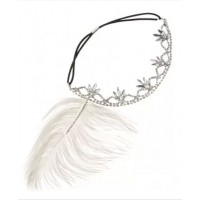 Diva feather and diamante headband. source: Diva online store credit: Diva http://www.diva.net.au/shop/hair/feather-diamante-head-band.html