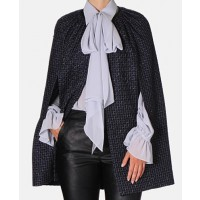 Carla Zampatti twilight tweed cape source: Carla Zampatti online credit: Carla Zampatti http://www.carlazampatti.com.au/Shop/Shop_Garments/Coats/135320.2002/Twilight-Tweed-Cape.html