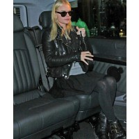 Kate Bosworth wears biker boots source: zimbio credit: Bauer Griffin http://www.zimbio.com/pictures/hzGefBINe_P/Kate+Bosworth+at+Fashion+Week/hPTHx5BacWn/Kate+Bosworth