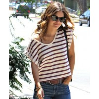 Rachel Bilson rocks a striped tee source: posh 24 credit: WENN.com http://www.posh24.com/photo/803791/rachel_bilson_sunglasses_tshi