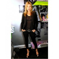 Kate Moss in sheer black T source: whowhatwear.com credit: Getty Images http://www.whowhatwear.com/sheer-tops-black-bras/2