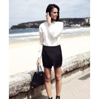 Tash in Bassike shirt for Vogue Spy Style: source: Theyallhateus blog credit: Daniel Nadel for Vogue Australia http://www.theyallhateus.com/page/4/?s=spy+style