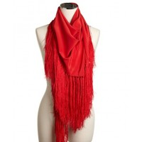 Lisa Ho silk tassel scarf. source: Lisa Ho online credit: Lisa Ho https://www.lisaho.com/shop/accessories/wraps-/-scarves/C33/p22328/colour/RED