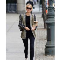 Karolina Kurkova looks fierce in a leopard print blazer source: Posh 24 credit: WENN http://www.posh24.com/karolina_kurkova/karolina_kurkovas_multi_pattern_blazer_hot_or_not