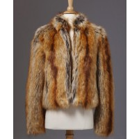 Unreal Fur fur delicious jacket source: Unreal Fur credit: Unreal Fur http://unrealfur.com.au/shop/all_products/furdeliciousjacketginger