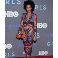 7: Solange Knowles wears head to toe patterned suit http://culturista.com/2013/01/10/hot-or-not-solange-knowles-colorful-patterned-suit/ source: culturista credit: Andrew H Walker/Getty Images