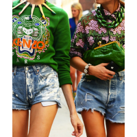 Miroslava Duma and Elena Perminova in Kenzo sweaters. source: netrobe blog credit: Tommy Ton http://blog.netrobe.com/2012/09/nyfw-on-the-streets/tumblr_ma5rdyyelp1qd9dj2o1_500/