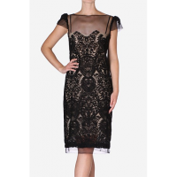 Lace - Caviar Lace Sheath Dress, Carla Zampatti http://www.carlazampatti.com.au/Shop/Shop_Garments/Short_Dresses/135151.0999/Caviar-Lace-Sheath-Dress.html