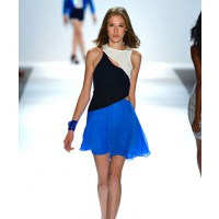 Charlotte Ronson Spring 2013 runway photograph. Source style.com
