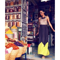 Geo Maxi Skirt. Source www.kookai.com