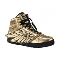 2012 Adidas Originals x Jeremy Scott Gold Wing http://sirenchic2012.blogspot.com.au/2012/08/sneaker-love-iijeremy-scott-designs-for.html