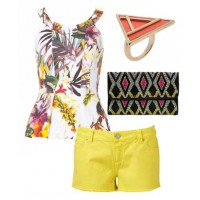 Look 3 - Pop That Colour - $170.00