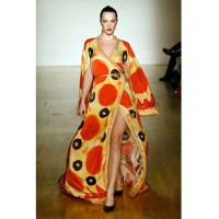 2009 Olympus Fashion Week Fall 06 http://slice.seriouseats.com/archives/2009/08/jeremy-scotts-pizza-dress-from-his-food-fight-collection.html
