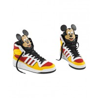 2010 Jeremy Scott x Adidas Micky Mouse Originals http://www.doobybrain.com/2010/04/14/jeremy-scott-makes-mickey-mouse-sneakers-for-adidas/