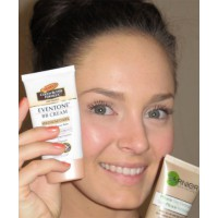 use a BB cream instead of foundation. Garnier BB Miracle Skin Perfector $13.95, or Biotherm White Detox BB Cream $49.