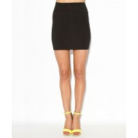 "Sass up a floaty dress with a body-hugging skirt. Mink Pink ""Body con skirt"", $19 http://shopmarkethq.com/products/body-con-skirt"