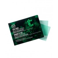 To stay matte, try the Body Shop's Tree Oil Facial Blotting Tissues $4.95 or MAC Pressed Blot Powder Compact for $36.