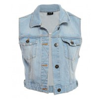 "Throw over a summer maxi dress. Bardot ""Roco denim vest"", $79.95 http://www.bardot.com.au/Roco-Denim-Vest.aspx?p424026&cr=113133"