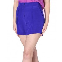 Bianca Spender Blue Silk Crepe De Chine Wide Leg Shorts, $236, source: http://www.biancaspender.com/SALE/SALE_-_Skirts_|_Shorts/124705.2000/Blue-Silk-Crepe-De-Chine-Wide-Leg-Short.html
