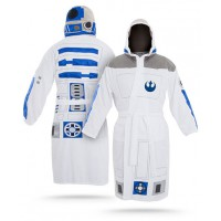 Star Wars robes http://fashionablygeek.com/nightwear/save-20-on-star-wars-bathrobes-only-55-99-71-99-deals/