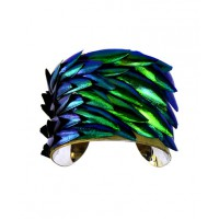 Jewel Beetle Wing Silver Lined Cuff Bracelet - by UNEARTHED, http://www.etsy.com/listing/74034819/jewel-beetle-wing-silver-lined-cuff