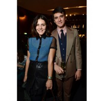 Margherita Missoni and husband Eugenio Amos who are expecting their first child this year. www.style.com