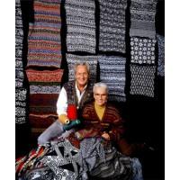 Missoni founders Ottavio and Rosita. www.arttattler.com
