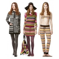 Missoni models in the 1970s. Modnica365.livejournal.com