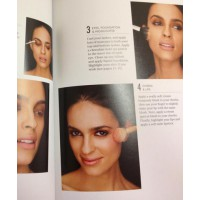 Makeup tutorials. Pages from Quick Looks: Beautiful Makeup in Minutes, by Rae Morris