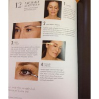 Makeup tutorials for every age. Pages from Quick Looks: Beautiful Makeup in Minutes, by Rae Morris