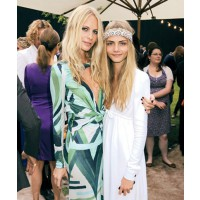 Poppy and Cara Delevigne at the Burberry Serpentine Summer Party, source: Vogue UK online, credit: PR http://www.vogue.co.uk/spy/celebrity-photos/2011/06/29/burberry-hosts-the-serpentine-summer-party-2011