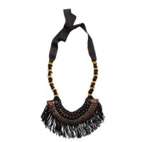Elegant Mama - Fringe bullion neckpiece, $319, Megan Park. http://meganpark.com.au/collections/accessories/products/w13-161