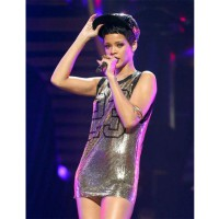 2012 Rihanna wears Jeremy Scott Spring 2013 Sequin Jersey Dress at iHeart Radio Music Festival http://jinnaloves.wordpress.com/2012/09/23/rihanna-wears-jeremy-scott-spring-2013-sequin-jersey-dress-at-the-iheart-radio-music-festival/