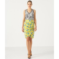 Country Road Palm Print Tank, $129 and Hawaiian Sarong Skirt, $149, source: countryroad.com.au