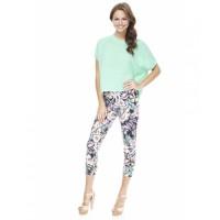 Cocolatte 3/4 Floral Print Trousers, $12.99, source: cocolatte.com.au