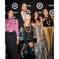 The Missoni clan in Missoni. www.washingtonpost.com