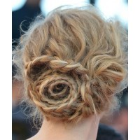 The magnificent updo from behind. Image source: http://www.glamour.com/weddings/blogs/save-the-date/2013/05/wedding-hair-how-to-the-rose-s.html
