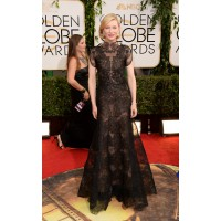Cate Blanchett in Cate Blanchett in Armani Prive, Jimmy Choo, Chopard http://www.huffingtonpost.com/2014/01/12/golden-globes-red-carpet-2014_n_4499470.html